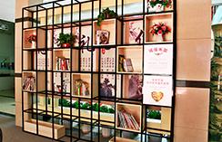郑州汽修学校,图书阅览区
