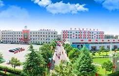 河南汽修学校,校园全景俯瞰图