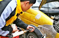 汽修培训学校,车身凹陷整形修复